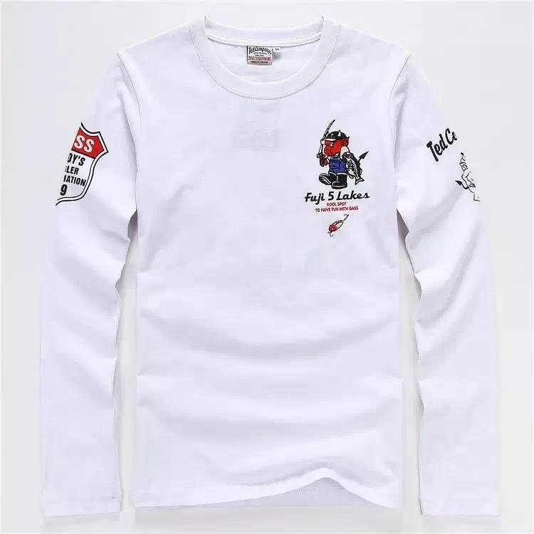 鬼洗 潮牌TEDMAN 幸運鬼長袖男生T 恤T shirt 款號239 號M 3XL
