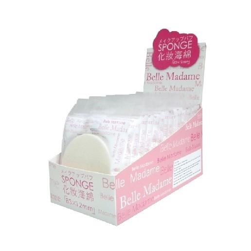貝麗瑪丹化妝海綿15 片入盒比永和三美人海大414 更大些
