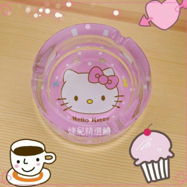 kitty 光臨kitty 水晶玻璃菸灰缸煙灰缸民宿、庭園咖啡廳 今天購買明天寄出