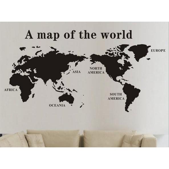 世界地圖壁貼