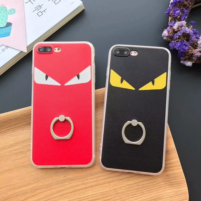怪獸眼睛指環支架iPhone7 5 6 s plus SE i5 i6 i7 手機殼H00