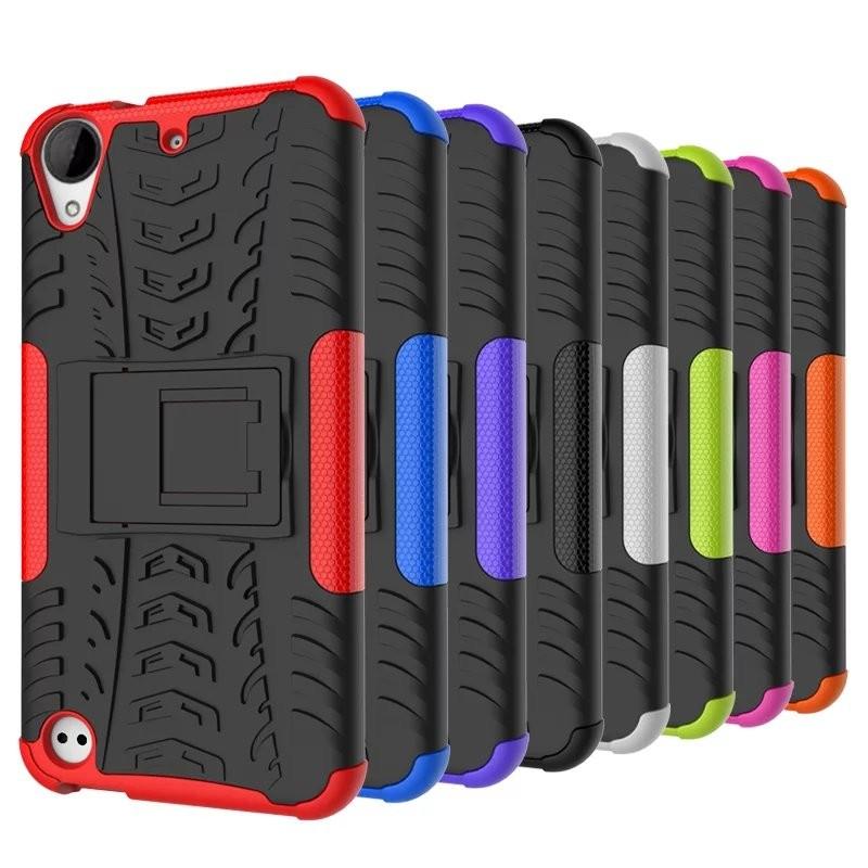 輪胎纹HTC Desire 530 手機殼630 炫彩纹手機套支架防摔保護殼