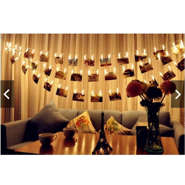 ❤ 實拍❤LED 燈夾子浪漫告白20LED 相片夾子回憶求婚佈置照片裝飾宿舍情人節氣氛夾子