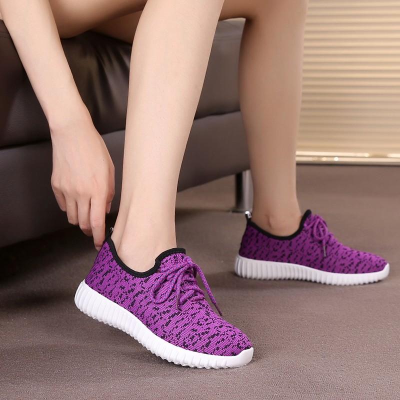 女鞋透氣舒適 鞋跑步鞋女款 織布女網鞋 鞋平底鞋帆布鞋懶人鞋學生鞋子居家鞋