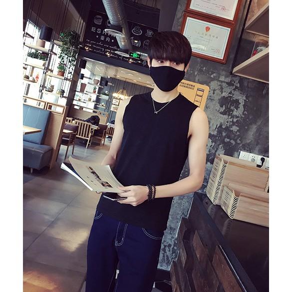 CEO 2016 純棉 青少年坎肩男生 修身型打底寬松背心潮流無袖T 恤