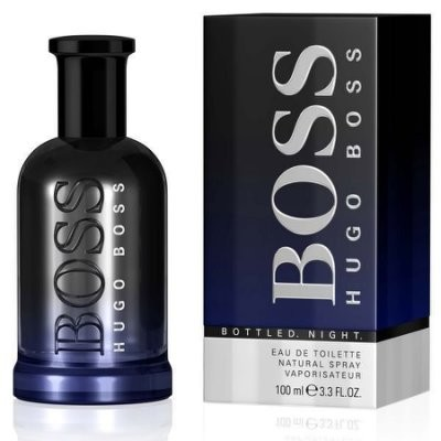 ~維納斯~HUGO BOSS Bottled Night 夜自信男性淡香水100ml ~T
