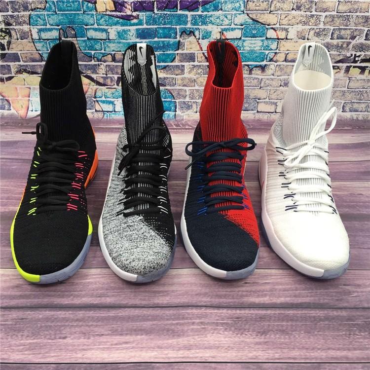 Hyperdunk2016LAB 陰陽飛線HD16 奧利奧精英籃球鞋(2016 奧運編織版