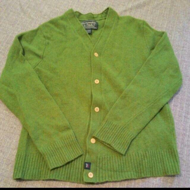 Abercrombie Fitch 羊毛毛衣外套