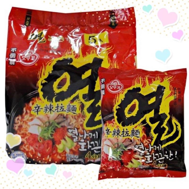韓國OTTOGI 不倒翁辛辣拉麵 十大辣麵TOP3 5 入裝