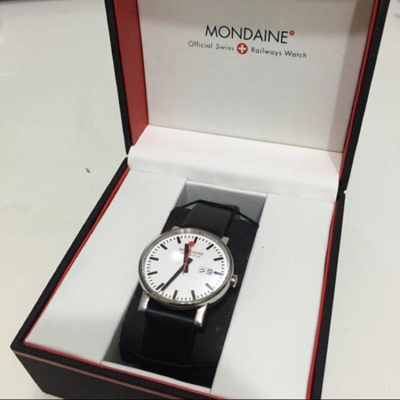 Mondaine 瑞士國鐵4 公分大錶面腕錶XM 62711
