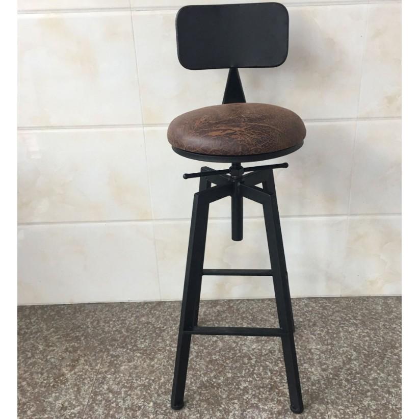 ~美式 ~鐵製吧檯椅升降椅工業風旋轉椅IKEA 吧台椅高腳椅美式鄉村風做舊酒吧椅