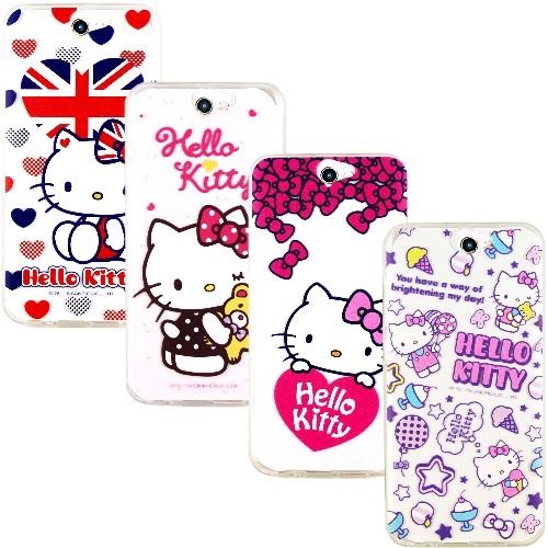 ~Hello Kitty ~HTC One A9 彩繪透明保護軟套