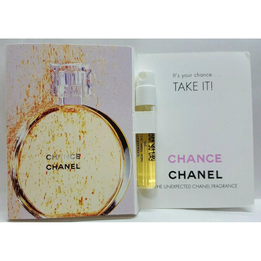 Chanel 香奈兒Chanel CHANCE 邂逅愛情EDT 女性淡香水針管試管1 5m