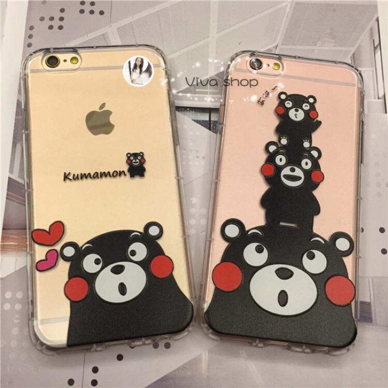 iPhone 7 iPhone7plus 手機殼保護殼套 熊本熊防摔殼空壓殼浮雕