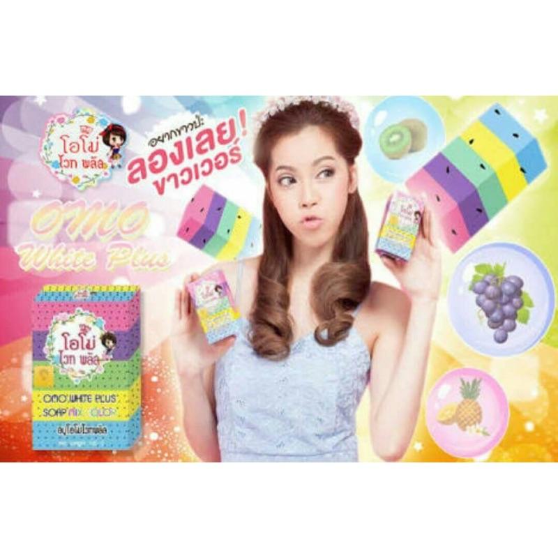 泰國OMO PLUS SOAP 繽紛天然彩虹皂100g