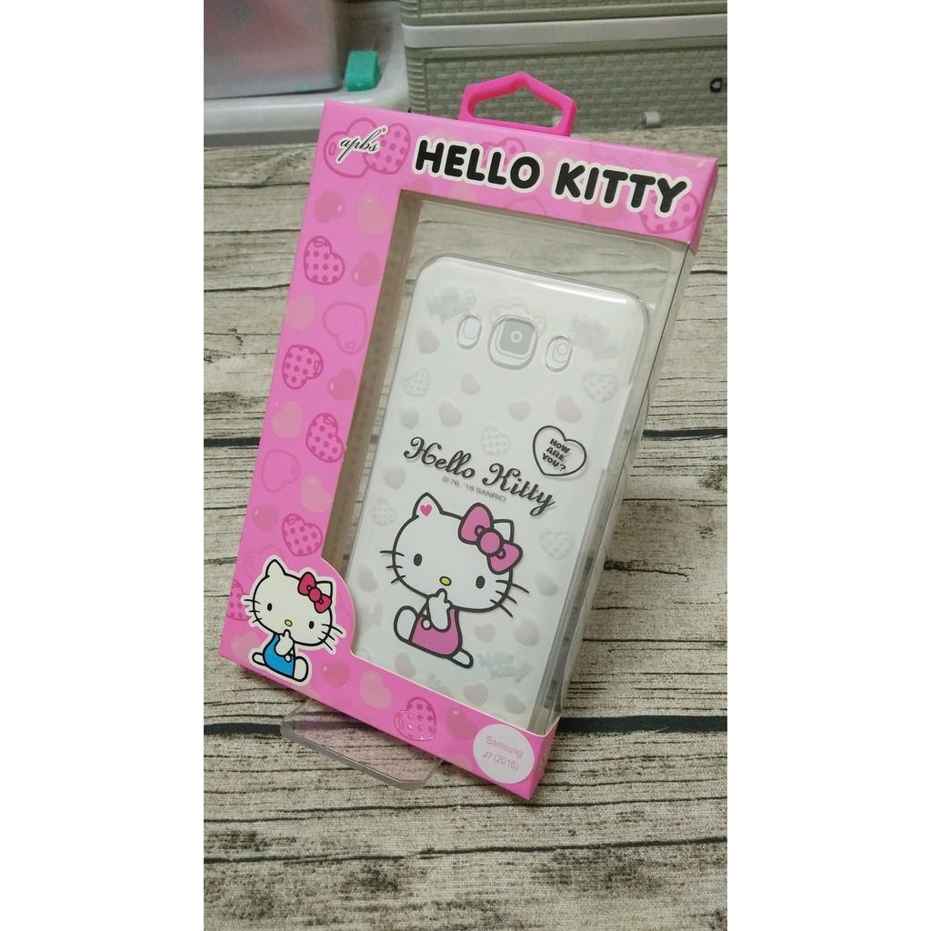 J7 2016 SAMSUNG J710 三麗鷗 Hello Kitty 透明立體彩繪手機