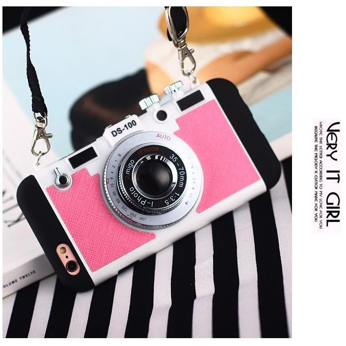 iPhone 6S Plus 蘋果韓國製i PHOTO 翻玩照相機手機殼立體 復古相機保護