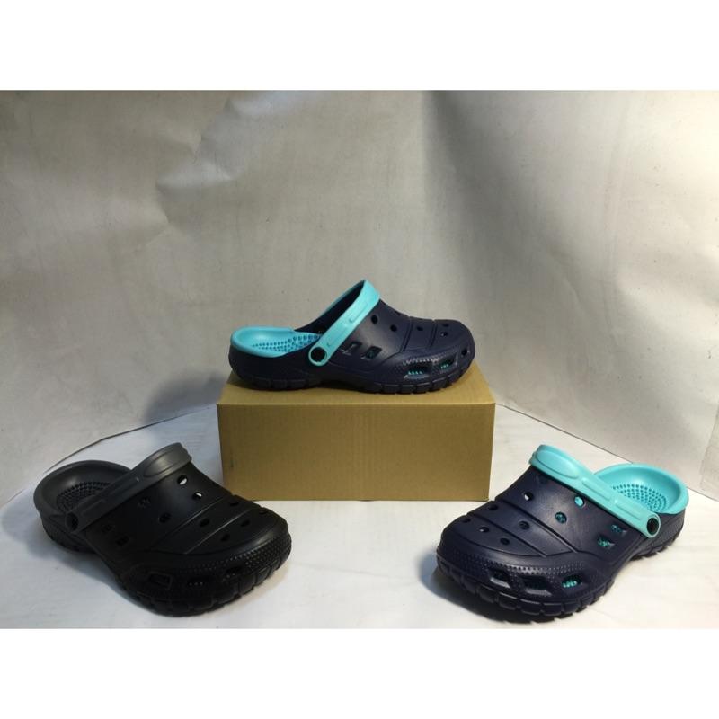 雨天涼伴情侶款一體成形超透氣防水洞洞鞋361 布希鞋洞洞鞋懶人鞋