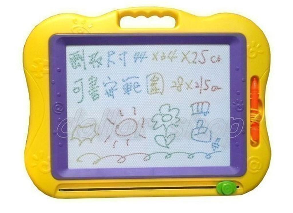 寶貝玩具屋~~綜合~加大尺寸奇趣高 四色磁性畫板 塗鴉畫板