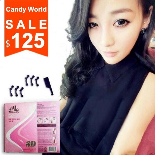 Candy World 挺鼻器美妝韓國 美鼻神器挺鼻器翹鼻微整形隆鼻墊男女 美鼻器 3 不