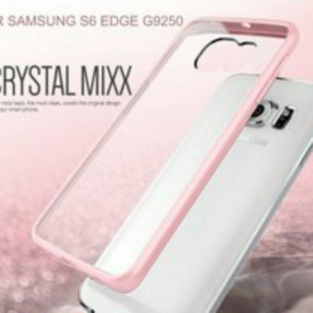 庫米VERUS SAMSUNG S6 EDGE G9250 水晶系列TPU 軟邊框全透明背