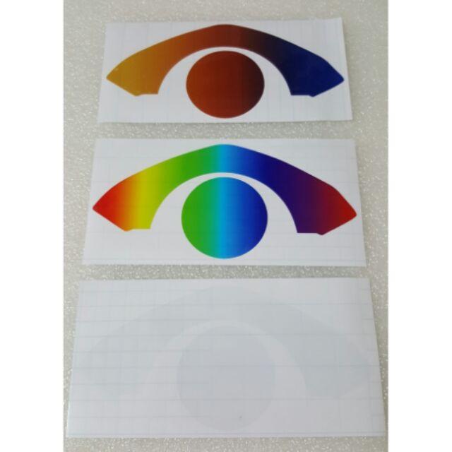 ~阿賢賣場(買一送一)JET S 液晶儀表貼保護貼彩虹電鍍透明