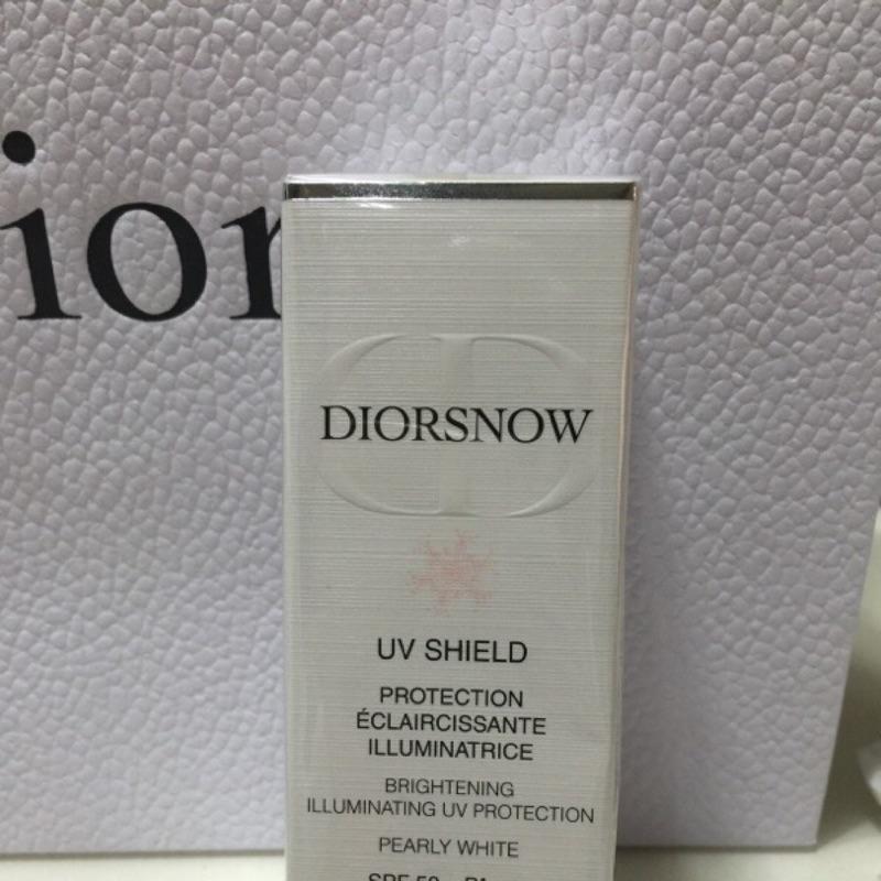 CD 迪奧雪晶靈極緻透白UV 隔離霜珍珠白30ml 2016 包裝