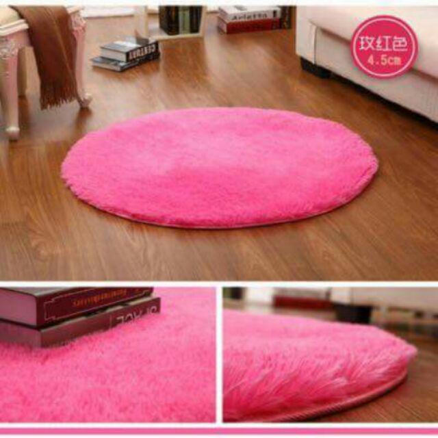 簡約風格圓形地毯3cm 踏墊居家客廳臥室房間書房套房休息室辦公室工作室 增加