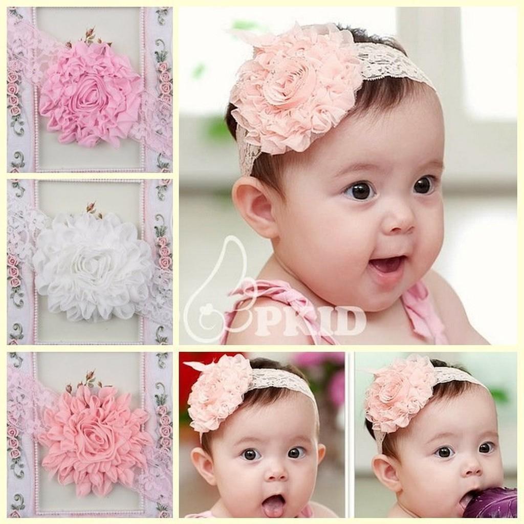 HM 嬰幼館~Q334 ~2015  兒童髮帶新生兒嬰兒寶寶髮帶女童女寶公主滿月百日週歲拍