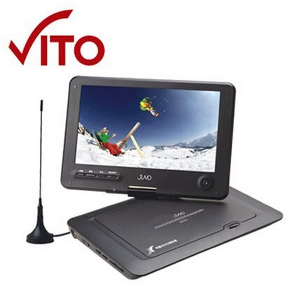~菱威智~VITO9 吋DVB T 可攜式 電視RMVB DVD 多媒體播放機JMV 91