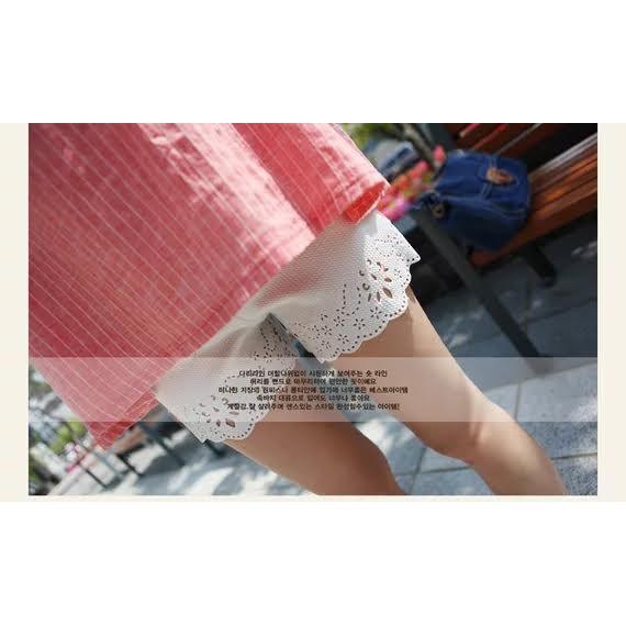 東大門韓妞街頭爆款燒花鏤空多 短褲彈力棉莫代爾內裡 單穿三分褲熱褲安全褲內搭褲