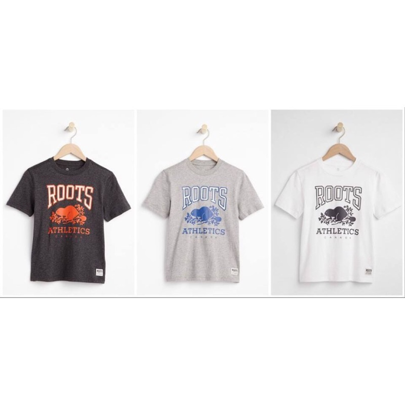 ROOTS 男大童T Shirt