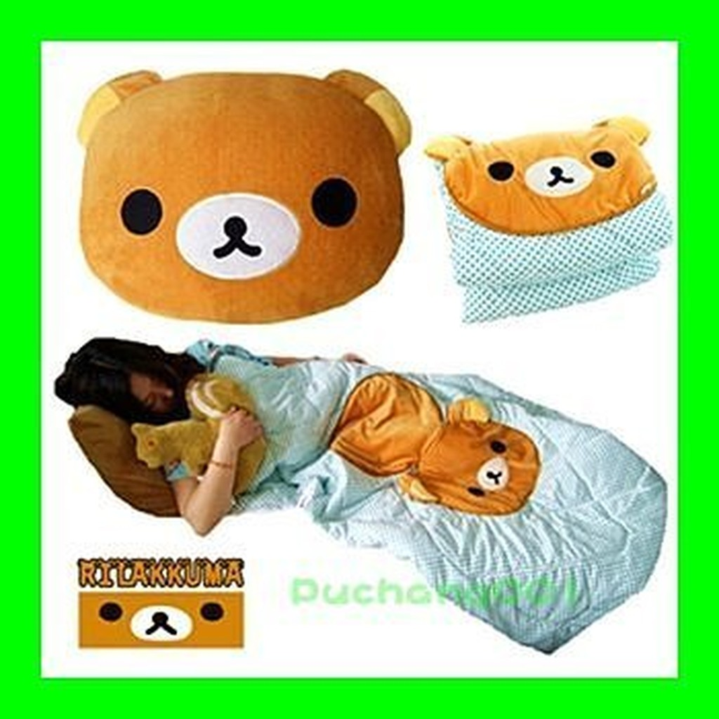 ~卡通折疊空調抱枕被~小熊小鴨黑貓白貓白熊兒童毯子抱枕兩用靠墊空調毯夏涼被靠背