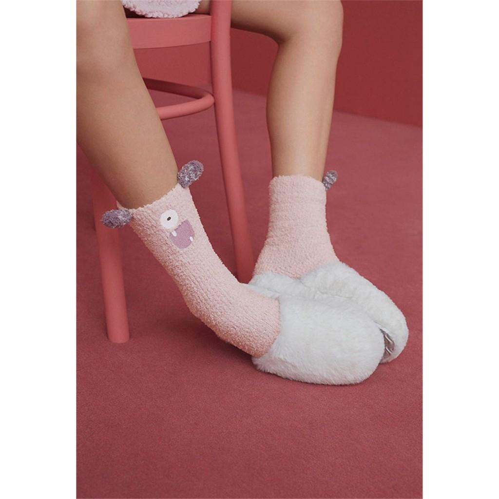 小兔雜貨西班牙大牌OYSHO 小怪獸睡襪