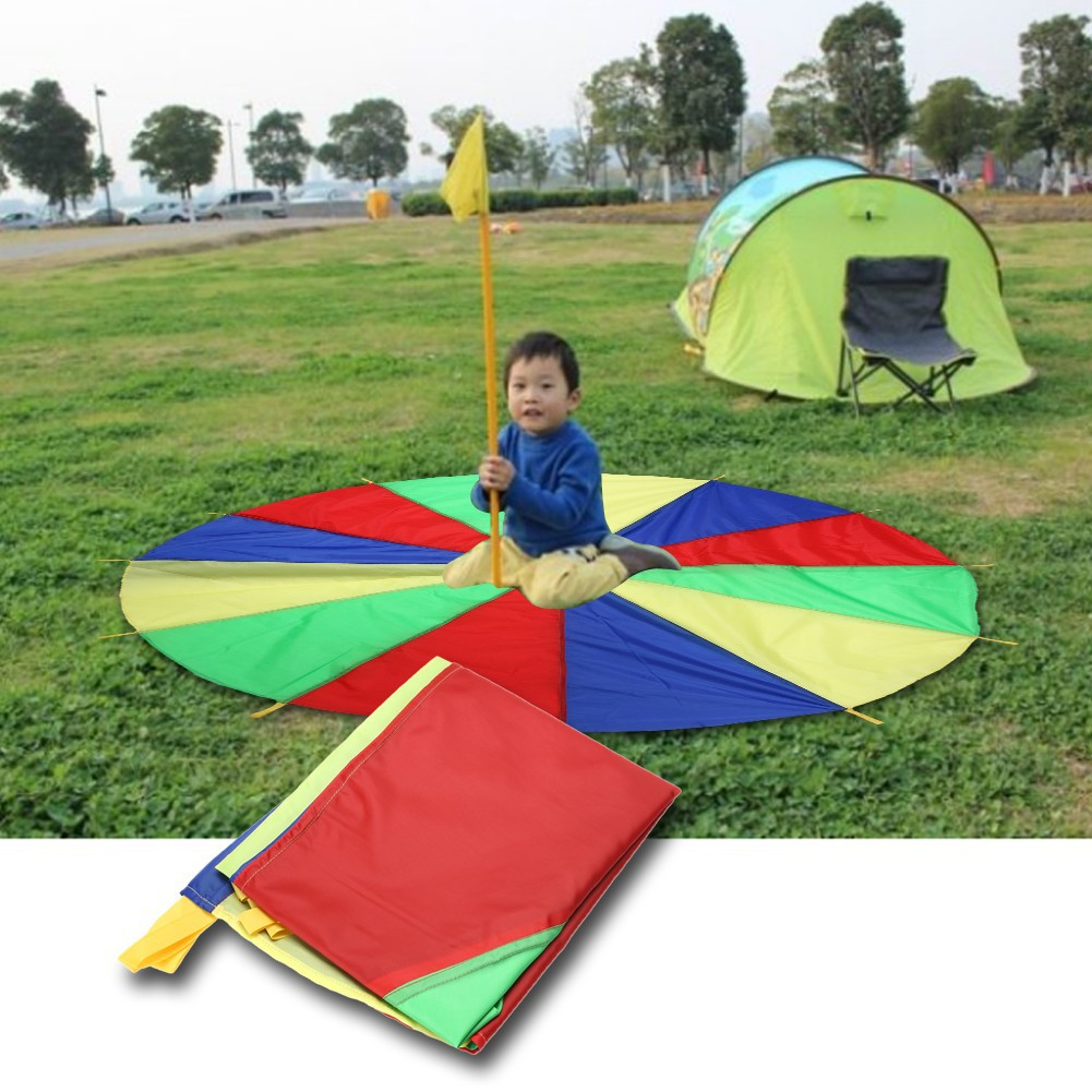 有 !2 米彩虹傘早教感統幼兒園感覺統合訓練教具戶外親自活動感統器材