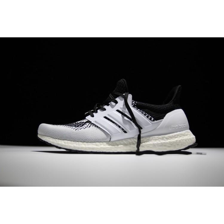 Adidas Ultra Boost Tee Time 飛線編織 舒適爆米花慢跑鞋男女鞋黑