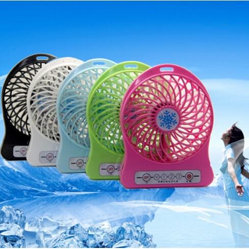 ~MIMI SHOP ~雪花三段式帶LED 電風扇隨身攜帶雪花芭蕉扇三段式超大風力USB