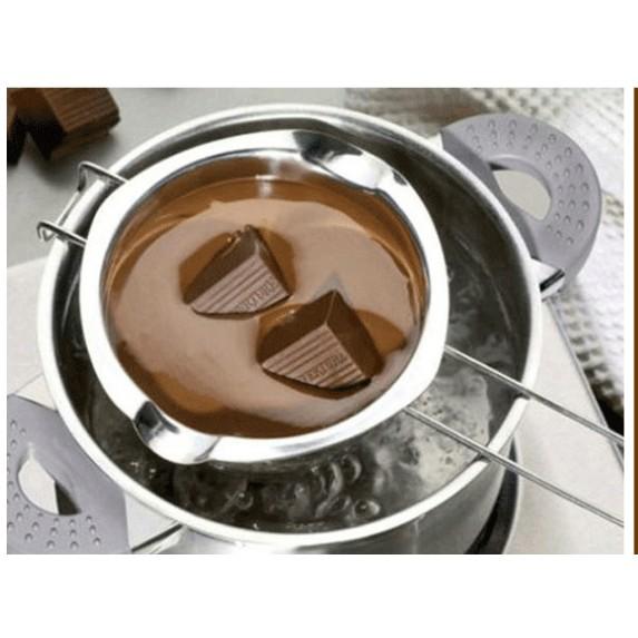 深夜皂材行304 不鏽鋼巧克力鍋護唇膏膏類製作好幫手