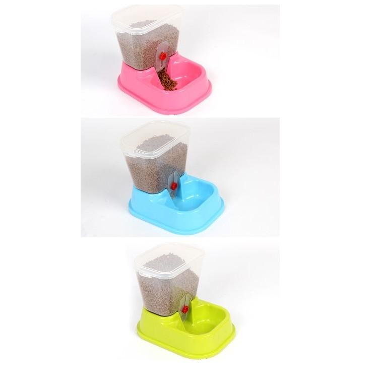 ~單槽~NOA076 自動餵食器飼料器寵物座式自動餵食器 飲水器餵食機投食餵食器定量餵食器