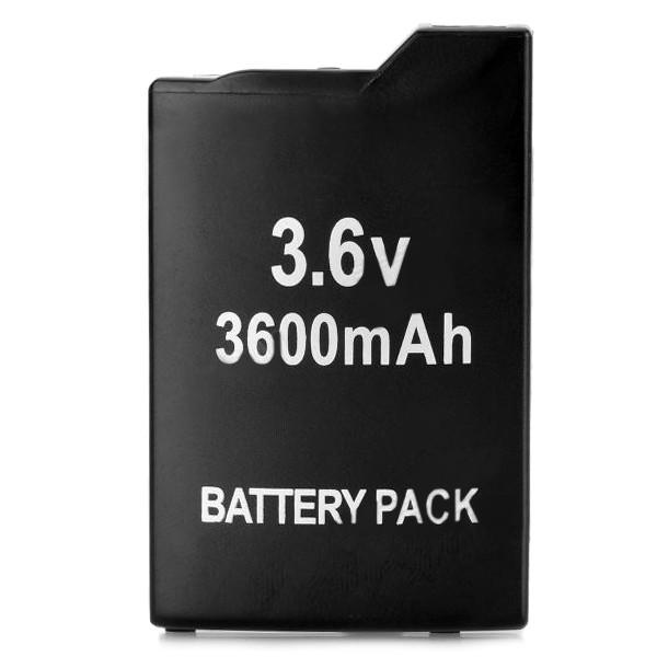 PSP 便攜⚡3600 毫安⚡培索尼2000 3000 主機⚡可充電⚡電池⚡黑色