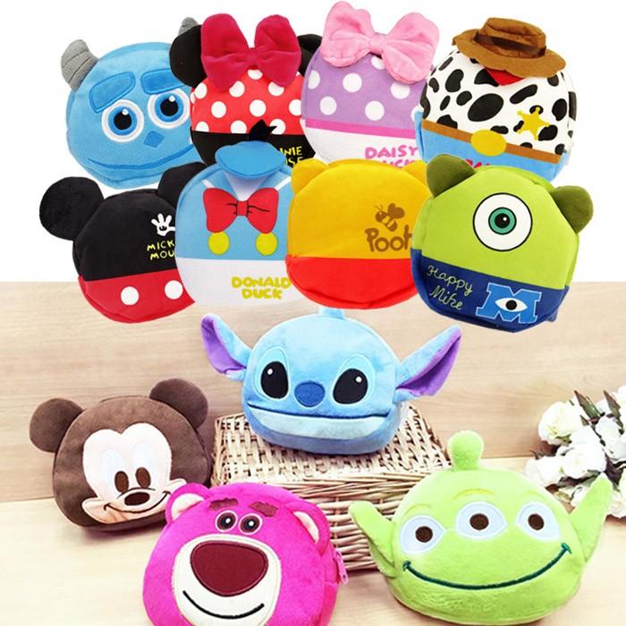 迪士尼Disney 加厚拉鍊小收納包化妝包乙入多款 【ROLI168C 】◆86 小舖◆