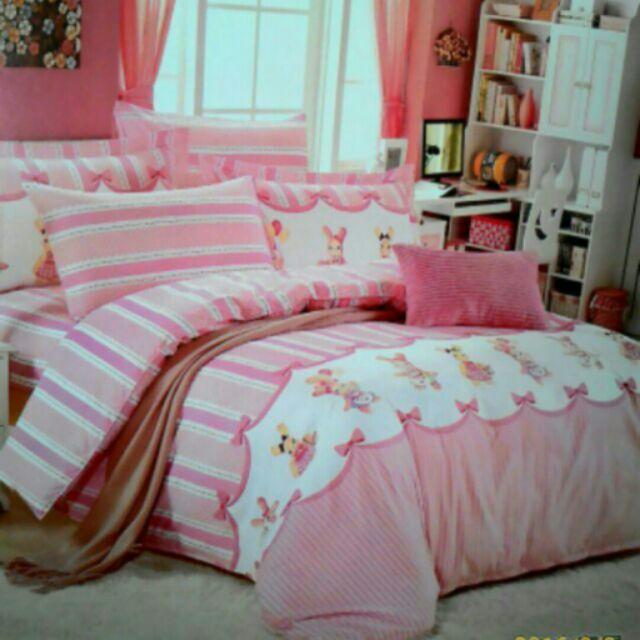 舖棉雙人床包枕頭套2