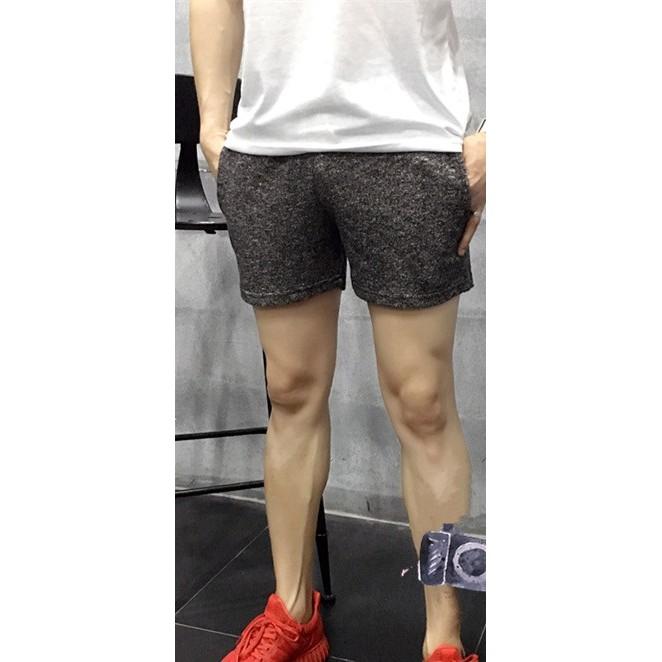 Q81 雪花三分褲雪花褲男生短褲三分褲潮男型男 潮流韓系短褲 健身彈性深蹲