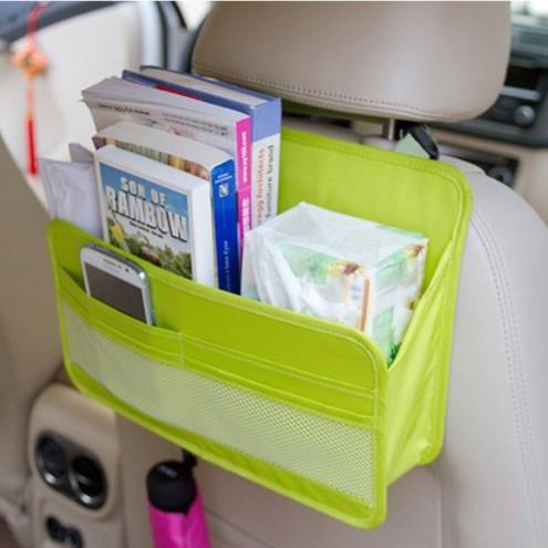 ~愛買舖~ 車用雜物收納袋後座置物袋車內用品收納汽車椅背收納袋萬用袋小物袋雜貨 放整理袋