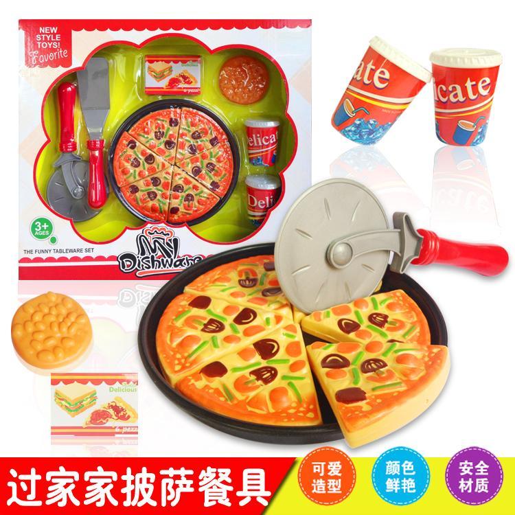 [熊爸爸]兒童玩具館仿真披薩餅Pizza 食物模型限7 11 或宅配出貨