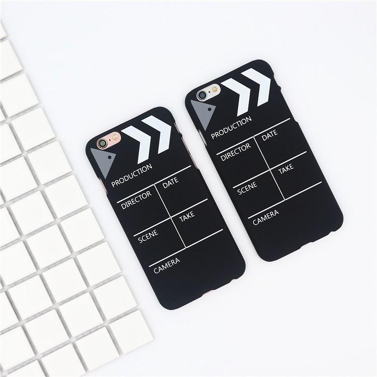 iphone6 手機殼韓國chi 場記板iPhone6S 手機殼蘋果7Plus 超薄磨砂硬