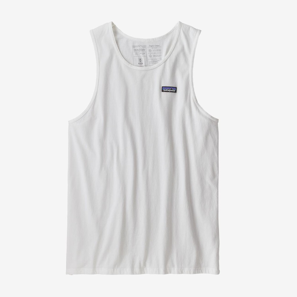 美國代購|Patagonia P-6 Label Organic Cotton Tank 背心 男版