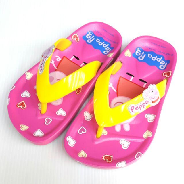 粉紅豬小妹佩佩豬夾腳拖鞋