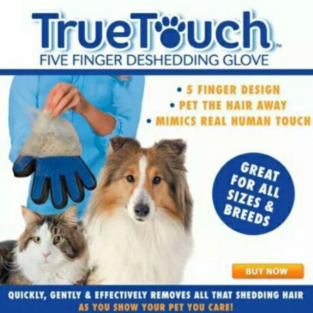 主婦麻 用品館True Touch 神奇寵物按摩毛髮梳理手套均一價120 元