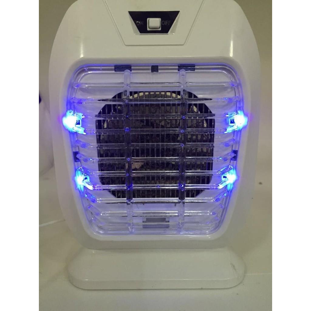 好貨網USB 負離子藍光捕蚊燈滅蚊吸入空氣清淨淨化露營釣魚行動電源菸味小黑蚊驅蚊登革熱靜音
